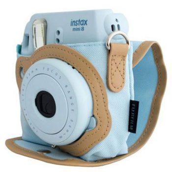کیف دوربین فوجی مدل FUJIFILM Camera Case for INSTAX Mini 9 Ice Blue