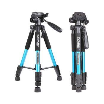 سه پایه زومی ZOMEi Q111 Travel Tripod-Blue