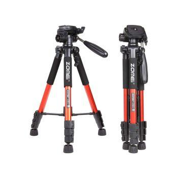 سه پایه زومی ZOMEi Q111 Travel Tripod-Orange