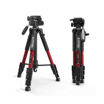 سه پایه زومی ZOMEi Q111 Travel Tripod-Red